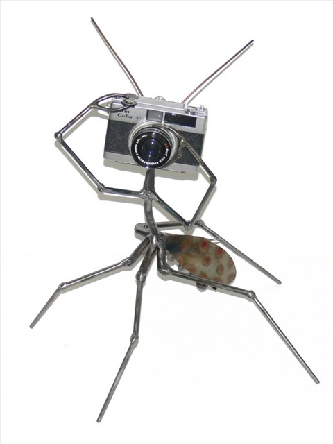 Shutterbug sculpture