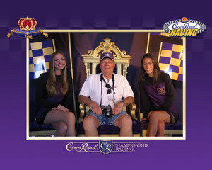 Crown Royal tent at Texas Motor Speedway