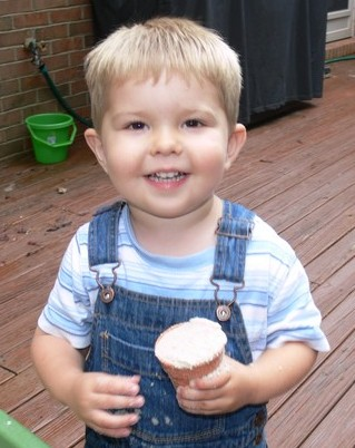 Mathias at 2 yrs
